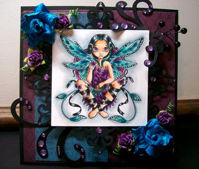 Fairy at Sunset-Designed by Angela Sowell