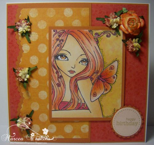 Card Designed by Marcea-Come Softly Stamp