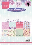*New*Marianne Design Pretty Papers Bloc-Sweet Summer