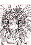 *New*Garden Sprite Unmounted Rubber Stamp