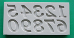 Numbers Art Mould