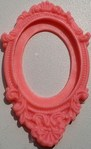 Ornate Cameo Frame Art Mould