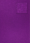*New*cArt-Us Glitter Cardboard-Purple