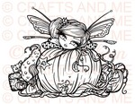*New*Pumpkin Patch Fairy Digital Stamp