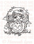 Pumpkin Pie Digital Stamp