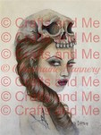 *New*Fantasy Woman Shaded Digital Stamp