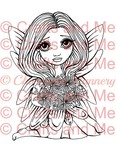 *New*Flower Fairy Digital Stamp