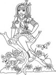 Woodland Rest-Unmounted Rubber Stamp
