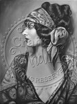 *New*Twenties Bohemian Greyscale Digital Stamp